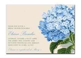 vintage hydrangea bridal shower invitation baby shower birthday