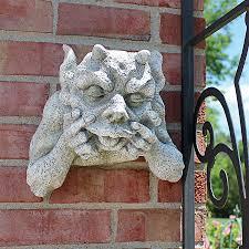 gargoyle home decor gnash the grotesque gargoyle plaque design toscano grotesque