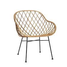 rattan sessel hübsch interieur atelier sochor shop - Sessel Dã Nisches Design