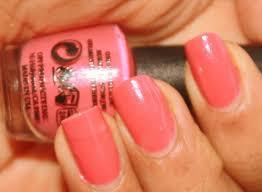 opi nail polish my address is hollywood rose pink nail polish review