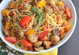 Pasta Sausage Sausage And Rosemary Spaghetti
