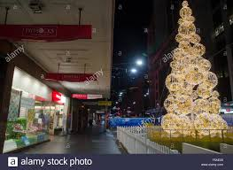 Christmas Decorations Cheap Sydney by Sydney Australia 1st Nov 2015 Christmas Tree Seen On George