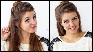 Hochsteckfrisuren Mittellange Haar Einfach by Alltags Frisuren Für Mittellange Haare Runde Gesichter