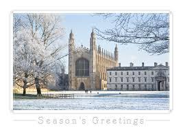 cambridge christmas cards by fotogenix