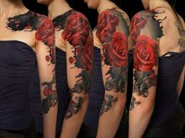 48 spectacular rose tattoos designs that increase your beauty