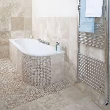 tiled baths mosaic around the bath bathrooms pinterest bathroom designs
