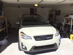 subaru crosstrek custom 2017 sports mesh grille