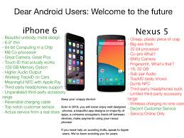 why iphone is better than android is the iphone 6 really 2012 technology macrumors forums