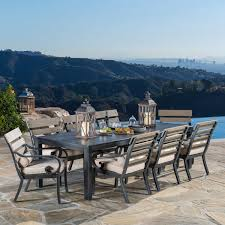 13 Piece Patio Dining Set - beaumont 7 piece sling dining set