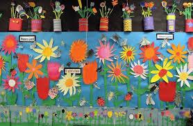Gardening Crafts For Kids - plants bulletin board crafts and worksheets for preschool