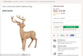 John Lewis New Year Decorations by John Lewis Trying To Sell Christmas Stock Despite 7m On