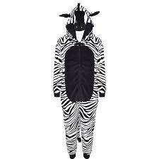 Fluffy Halloween Costumes Kids Girls Boys A2z Onesie Piece Soft Fluffy Zebra Halloween