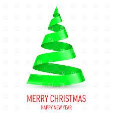 christmas tree made of green ribbon vector image 26001 u2013 rfclipart