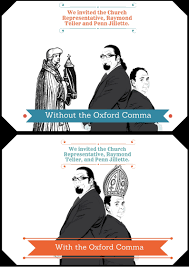 Oxford Comma Meme - who gives a fuck about an oxford comma imgur