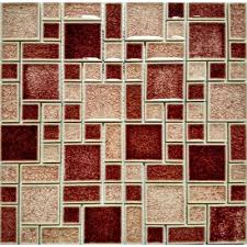 Wholesale Glass Mosaic Tile Squares Red Rose Pattern 304 by Best 25 Mosaic Wall Tiles Ideas On Pinterest Diy Exterior Glass