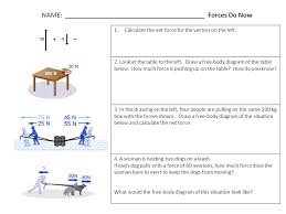 learning friction amp centripetal force worksheet physics draw a