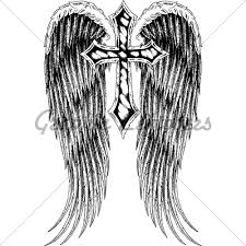 cross wings gl stock images