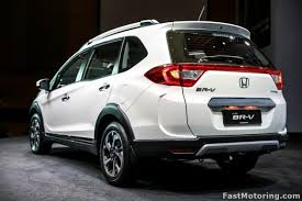 honda car 7 seater honda br v 7 seater crossover launched in malaysia