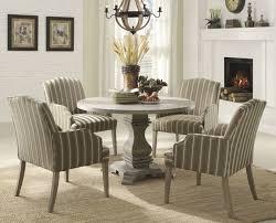 Birch Kitchen Table by Callie Weathered Birch Round Dining Table Set 48