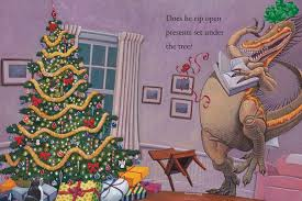 how do dinosaurs say merry by yolen picture book