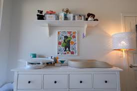 Changing Table Shelves by Keekaroo Peanut Diaper Changer Lime