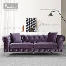 Purple Velvet Chesterfield Sofa 2017 New Design Purple Velvet Chesterfield Sofa