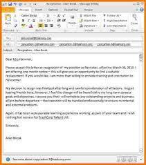 resignation letter format unique models resignation letter by