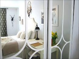 Mirrored Bifold Doors For Closets Closet Bifold Doors Louver Composite Interior Closet Bi Fold Door