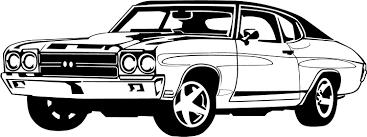 muscle car car show clipart clipartandscrap