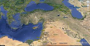Map Of Turkey And Syria by Kobane Map