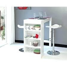 table bar rangement cuisine table bar de cuisine avec rangement bar avec 2 allonges rabattables