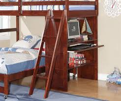 Wood Twin Over Full Bunk Bed With Desk  Twin Over Full Bunk Bed - Full bunk bed with desk