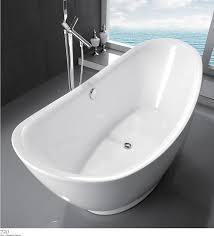 Acrylic Bathtub New Free Standing Acrylic Bathtub Glossy White Kf720 Uncle