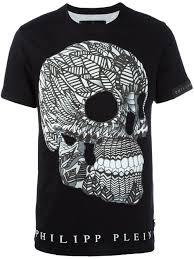 philipp plein skull print t shirt clothing philipp plein sale