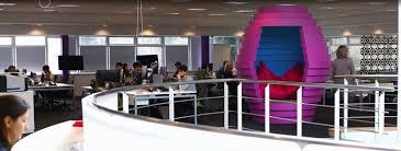 Interior Office Design Ideas Spectrum Workplace Funky Office Interior Design For Media Company