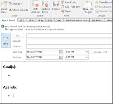 outlook tip set default meeting template u2013 dotnet catch