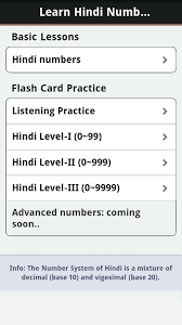 learn hindi numbers fast android apps on google play