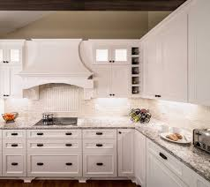 Kitchen Backsplash With White Cabinets by Bellingham White Cabinets Backsplash Ideas