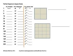 all worksheets squares and square roots worksheets grade 8