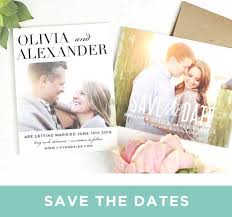 affordable save the dates save the date cards match your colors style free basic invite