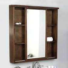 wood framed recessed medicine cabinet white wooden medicine cabinet recessed wooden medicine cabinet