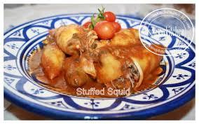 comment cuisiner le calamar calamars farcis à la marocaine sousoukitchen
