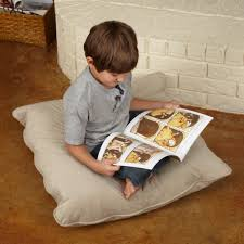 large floor pillows with lovely several color for living room