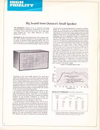 infrequent sound tex technology dynaco a 10 aperiodic 1971