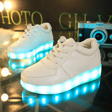 light up shoes charger 7 colors children shoes kids light up shoes with led light glowing