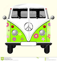 hippie van drawing cartoon retro hippie van stock vector image of decoration 24431661