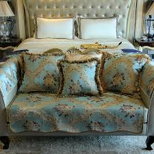 Top Quality Sofas Blue Top Quality Fabric Sofa Covers Slipcovers Vintage Floral
