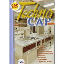 livre de cuisine cap techno cap cuisine livre lycée professionnel cultura