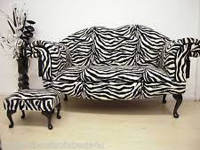 Zebra Print Chaise Animal Print Chaises Longues Ebay