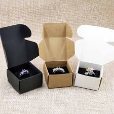 personalized jewelry gift boxes zeronge jewelry custom logo ring box with gold logo printed 500box